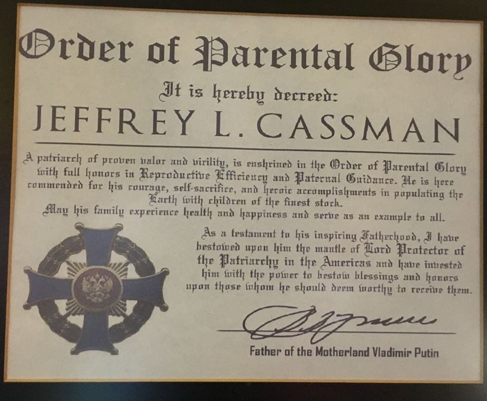 Order of Parental Glory