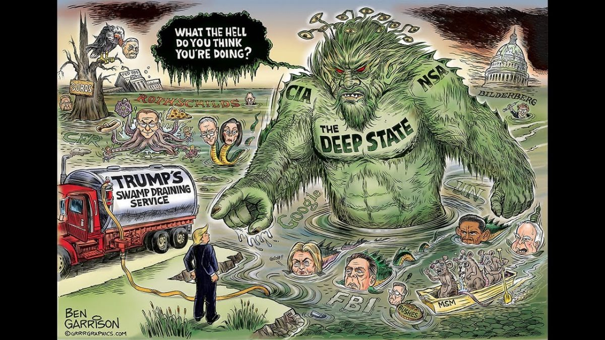 The Deep State Flexes