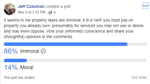 Are Property Taxes Immoral?
