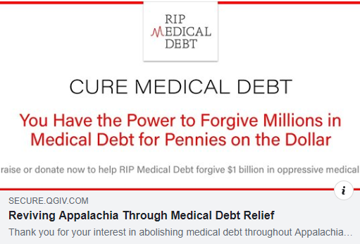 Help Payoff Medical Debts for Pennies on the Dollar